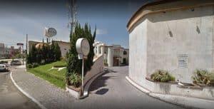 Entrada motel Atenas Puebla
