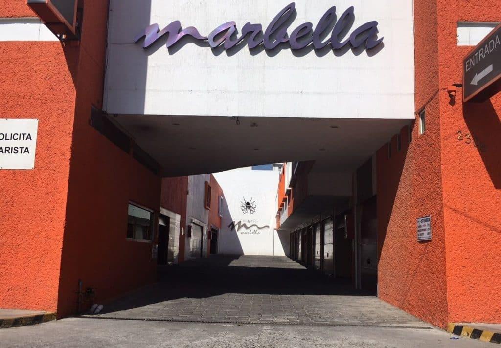 Motel Marbella Entrada