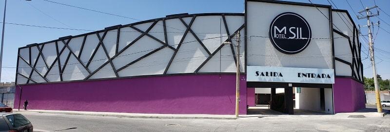 Motel Sil Puebla Fachada